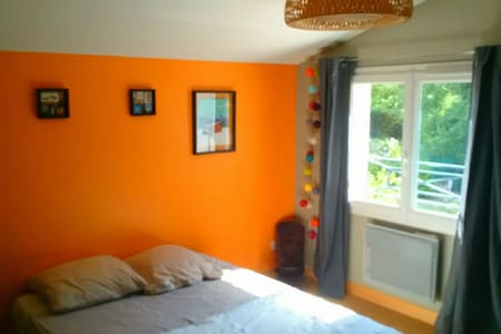 "The ""Orange Room"" AirBnb with swimming pool ! - Montarnaud"