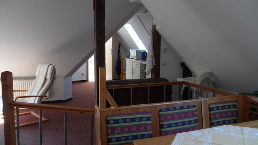 Apartment unterm Dach - Wismar - Apartament
