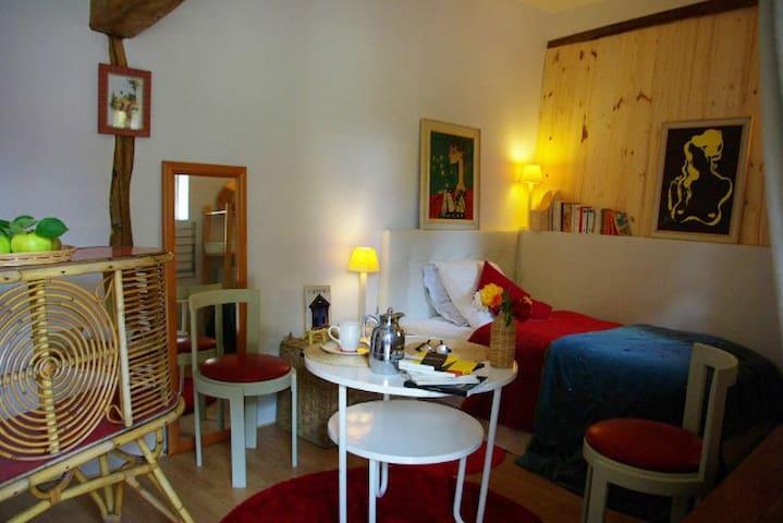 La chambre du jardin, bienvenue à 2 pas de Giverny - Vernon - Casa