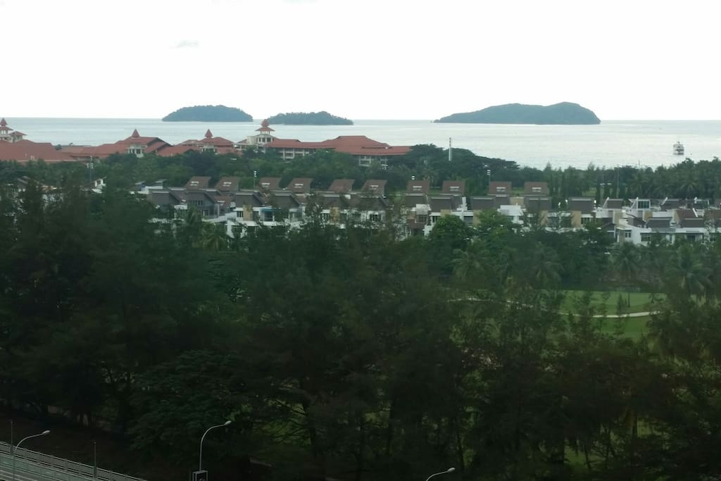 The Marvelous Golf Course & Seaview from the Balcony