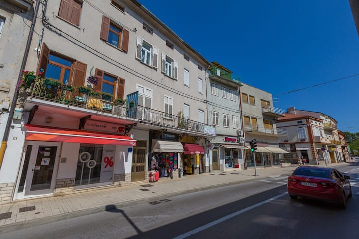 Three Bedroom House, 1m from city center, seaside in Crikvenica