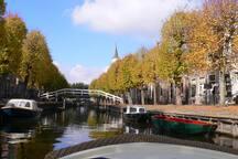 Famous little city Sloten near Friesebedstee. With great restaurants.