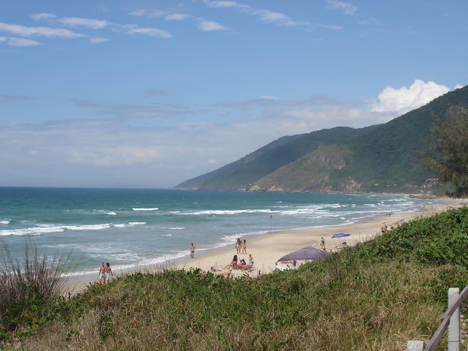 Impressionante paisagem da nossa praia dos Açores.