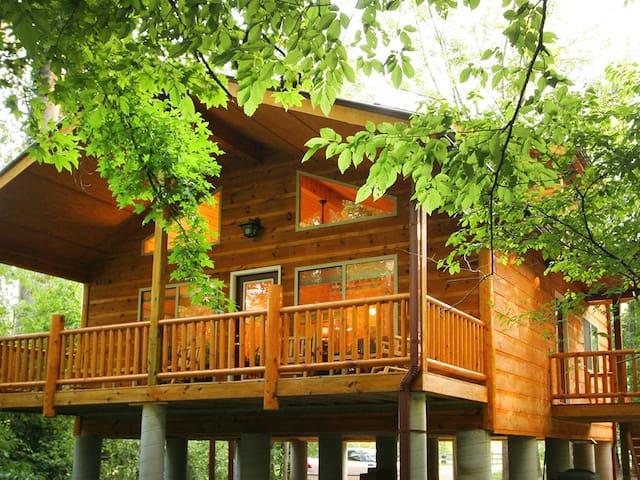 Helen Riverside Cabin Alpine Helen
