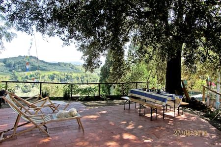 Amazing view on Chianti Hills - Fiano - Wohnung