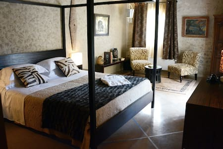 Les Loges de St Eloi - Africaine - Pontlevoy - Bed & Breakfast