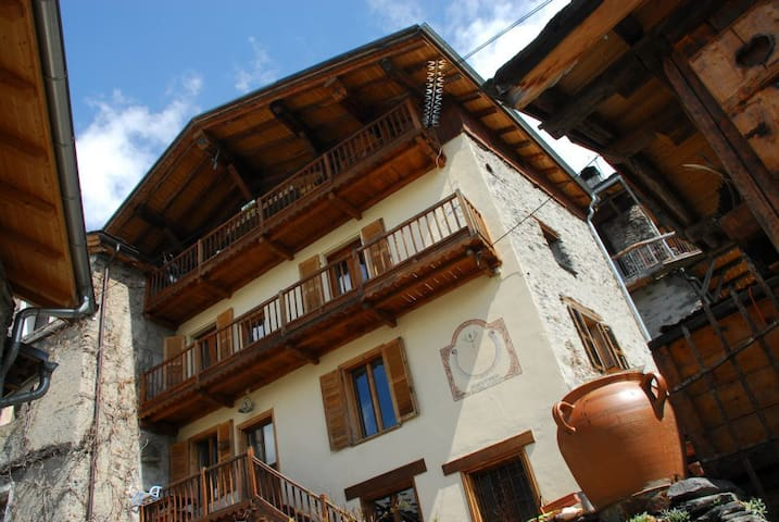chez michel, chambre berger - Sainte-Foy-Tarentaise - Bed & Breakfast
