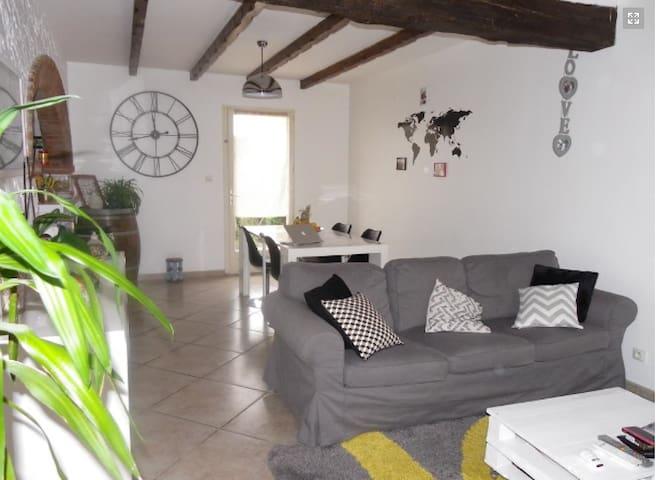 chambre dans jolie maison ensoleillée - Labarthe-sur-Lèze