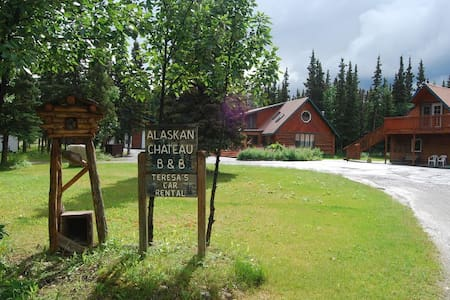 Cozy Log Home Near Denali Park, Activities, Food - Healy - Dom