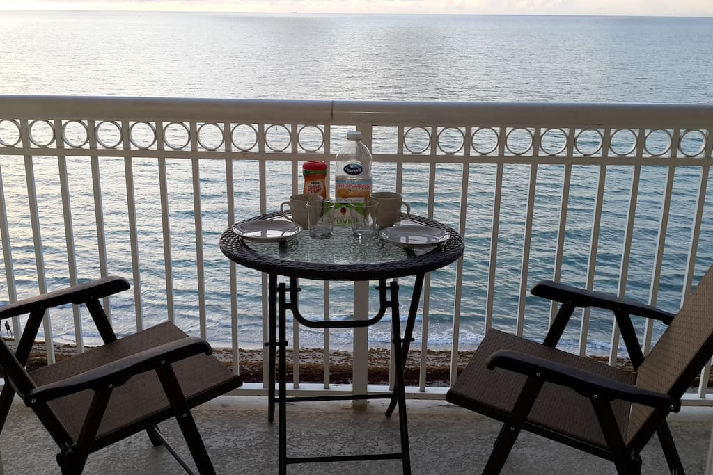 Unit#2 remodeled premium 10th floor oceanfront unit with balcony