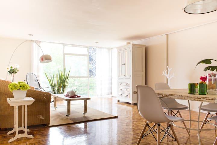 Nice & bright apt close to Reforma - Ciudad de México - Appartement