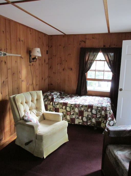 Living room with trundle bed