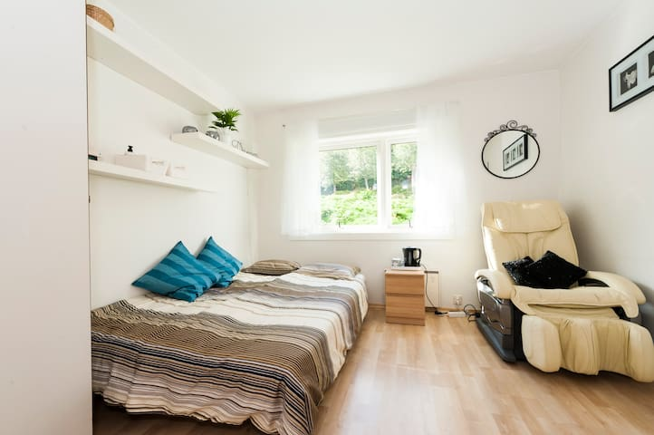 Comfortable room close to centre - Bergen - Daire