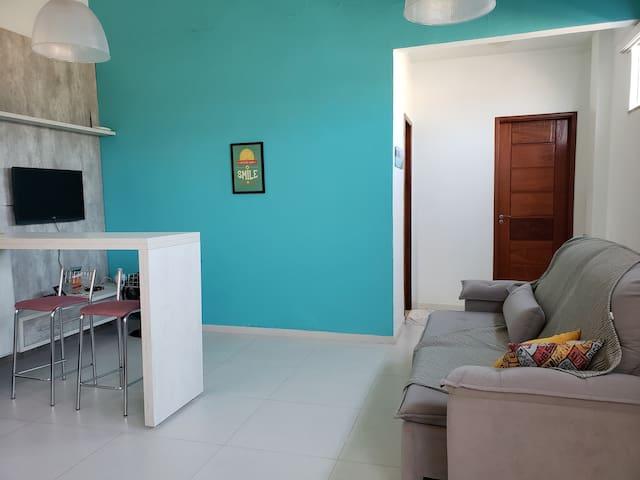 Casa Azul do Mar- Morro da Cabocla