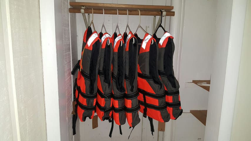 life jackets for The Kayaks