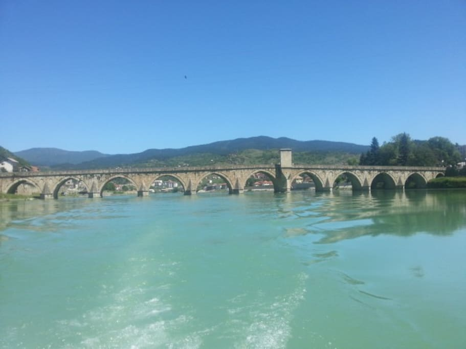 a review of ivo andrics novel the bridge on the drina Bridge to happiness bridge to  grieve the unsteady representation of violence in ivo andrics the bridge on the drina report when i stumble in lifes storms love is.