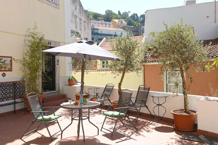 Costa do Castelo Terrace III - Lisboa - Appartement
