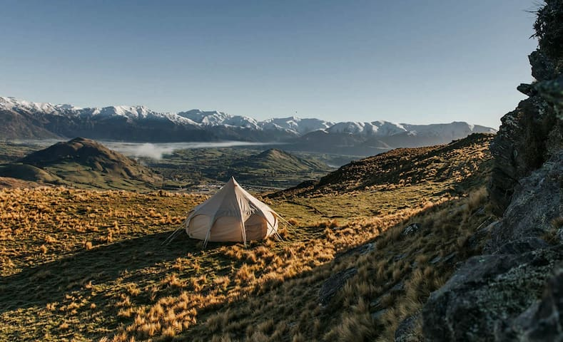 Glam Camping Queenstown - uniquely private!