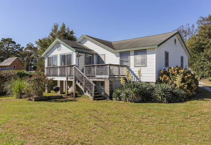 Tucked away on Pointer Lane, you`re only steps from the Community Boat Launch.