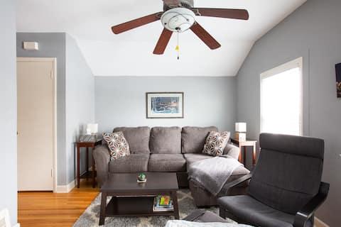 Suite duplex privée confortable de 2 chambres