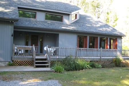 Lakeside Adirondack Mountain Home - Wevertown`
