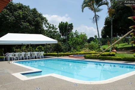 Tropical Mountain Villa Bedrooms - Pereira