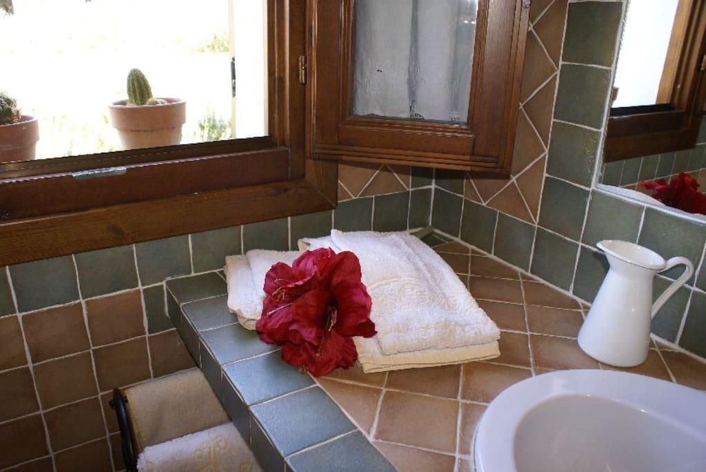 Bathroom Margherita room