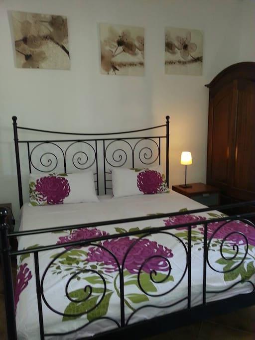 Bedroom over looking Pool area
