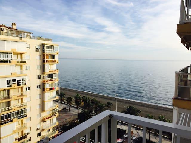 Apartamento en primera linea de playa, Beach, sun - Algarrobo - Apartment