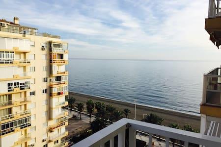 Apartamento en primera linea de playa, Beach, sun - Algarrobo