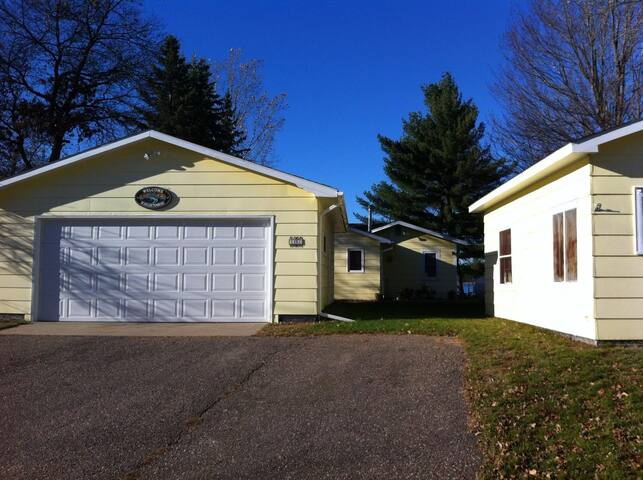 Garage and Guest House