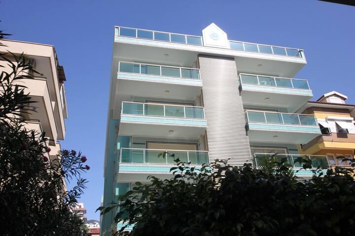 Perfect spacious apartment on Cleopatra Beach - Alanya - Apartamento