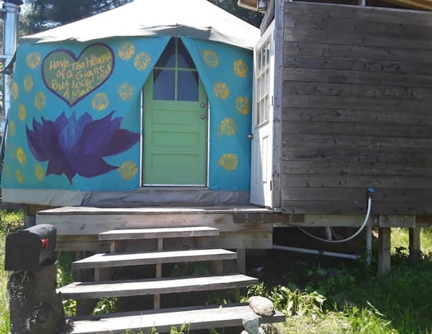Lotus Yurt