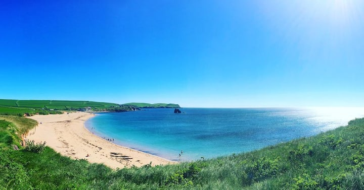 Sea view Thurlestone Apartment | Beaches Nearby