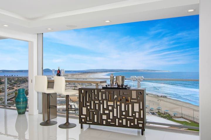 Coastal Elegance and Beach-Front Sanctuary