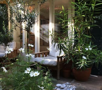 Süßes Zimmer direkt am englischen Garten