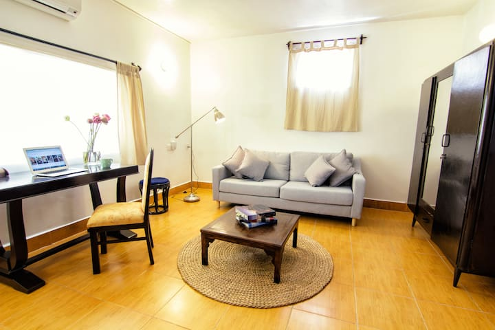 YK Art House - One bedroom flat with kitchenette
