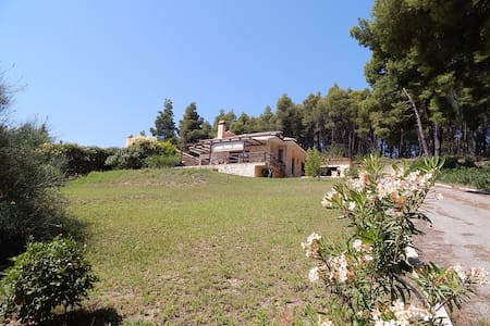 R26 Cozy sea view detached house in Halkidiki. - Paliouri - 一軒家