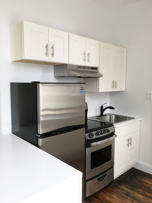 New Kitchen and Stainless steal appliances