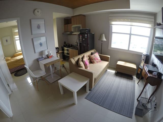 Cozy 2BD Apt with nice Bandung view - Bandung - Appartement