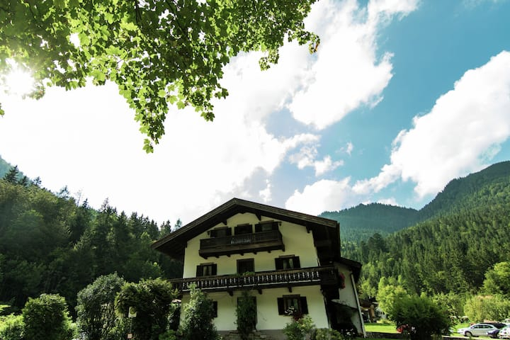 Pleasant Apartment in Ruhpolding with Swimming Pool