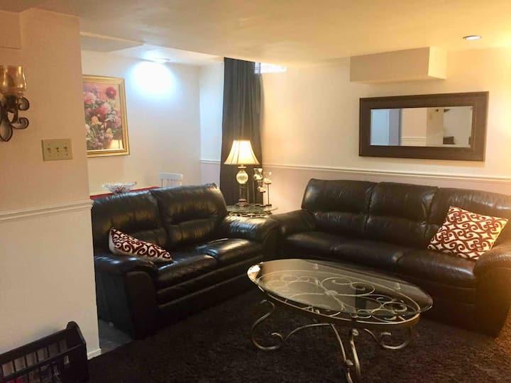 Full private Basement furnished WiFi/TV/KITCHEN