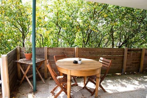 Acogedor apartamento con vistas lejanas de Tréveris!
