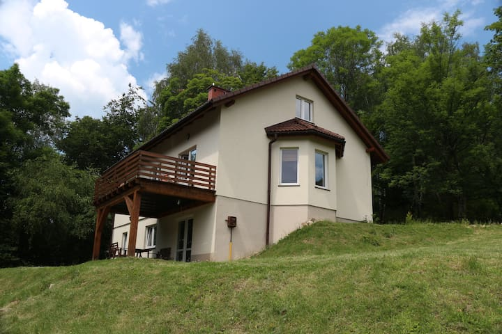 Mountains, forest, river, skiing - Porąbka, Silesian Voivodeship - House