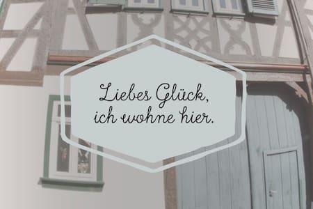 Altstadtglück - Wohnen im Fachwerk - Maison