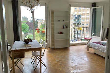Cozy-Sunny double room 12 min away from Notre Dame - Arcueil - Wohnung