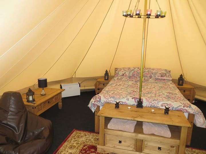 Double Bell Tent - Doolin Glamping
