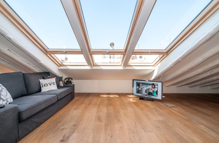 Penthouse in the center of Madrid
