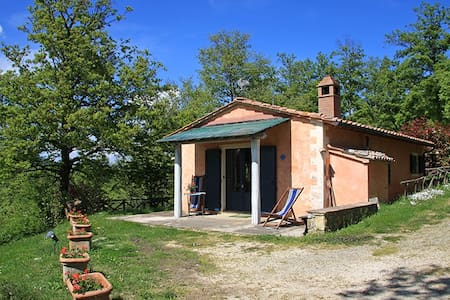 Cottage in the green near thermal baths - San Casciano dei Bagni - Maison