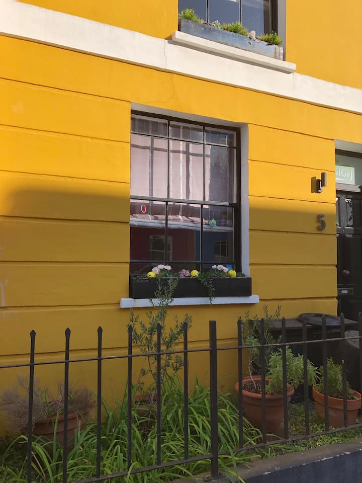 The Yellow House in extraordinary Kentish Town